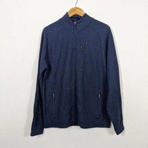 3/15 Tailor Vintage Waffle Fleece Jacket Blue NWT